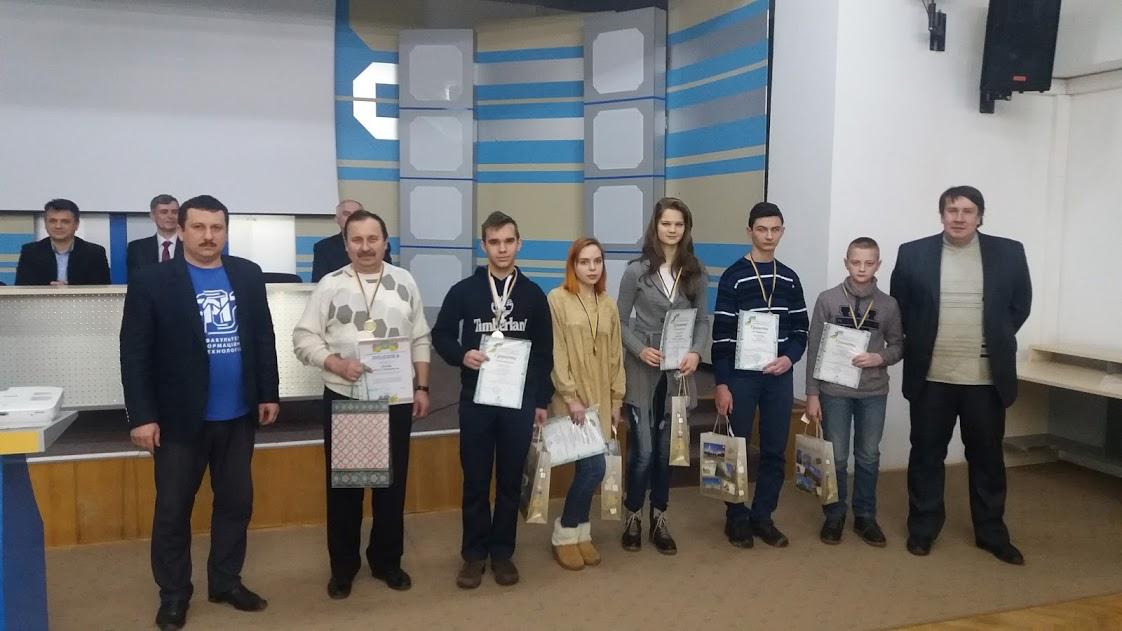 Нагородження команди-переможниці турніру юних інформатиків