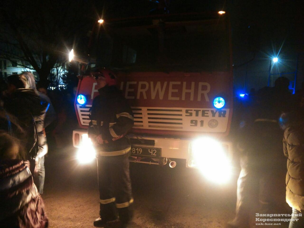 Пожежники вже ліквідували займання