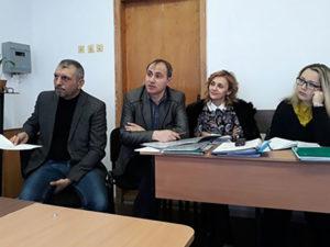 Юрій Бідзіля, Василь Путрашик, Леся Поліха й Олеся Барчан