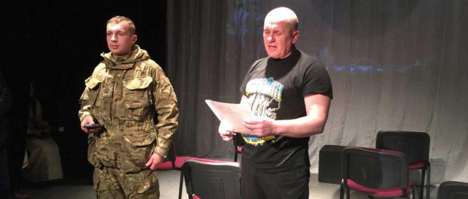 В Ужгородському коледжі культури та мистецтв відбулися Шевченківські читання за участі ветеранів АТО