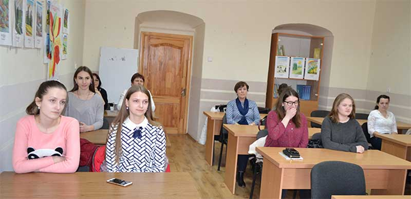 Учасники всеукраїнського етапу олімпіади з угорської