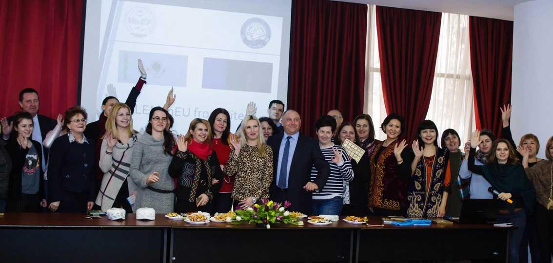 Тарас Дацьо в румунському університеті