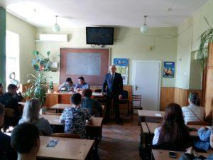 Студентам випускних курсів Ужгородського торговельно-економічного коледжу КНТЕУ розповідали про особливості працевлаштування