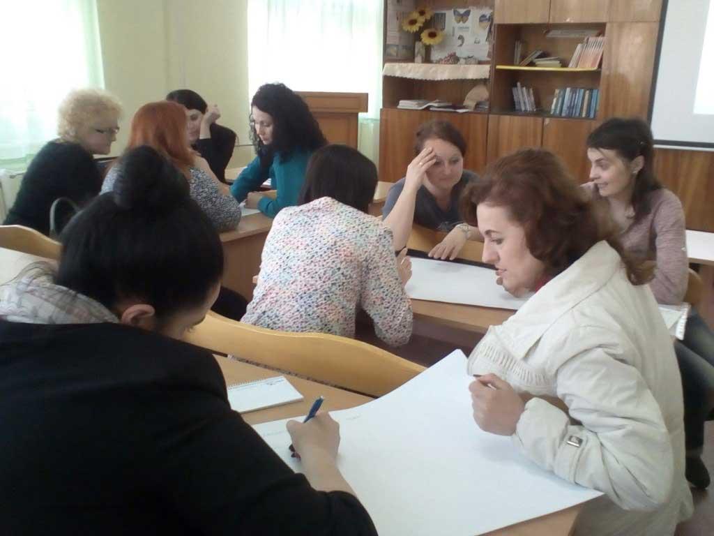Заняття практичних психологів у групах