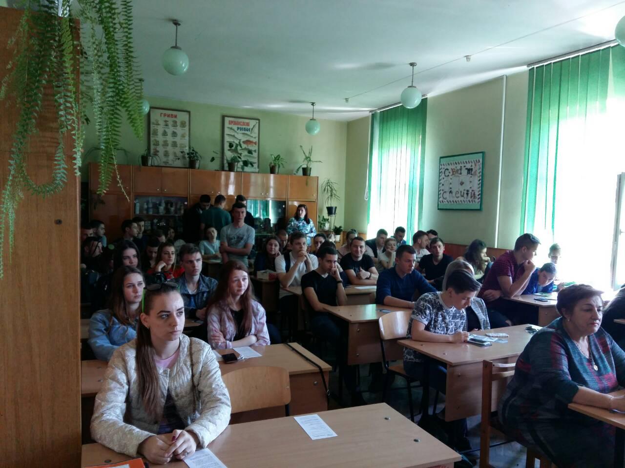 Майбутні випускники УТЕК КНТЕУ