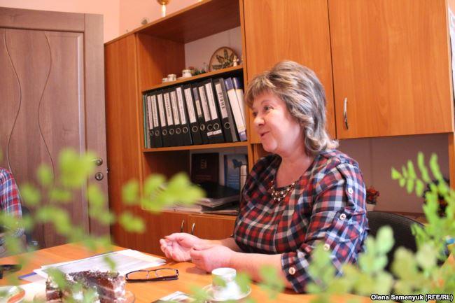 Директорка Тур'є-Реметівської школи Антоніна Мегела