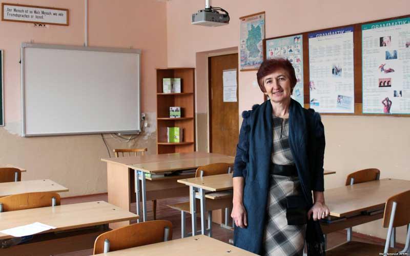 Вчителька німецької мови Тур'є-Реметівської школи Марія Федушка
