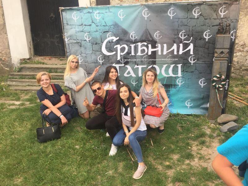"""Студенти УТЕК КНТЕУ на """"Срібному татоші"""""""