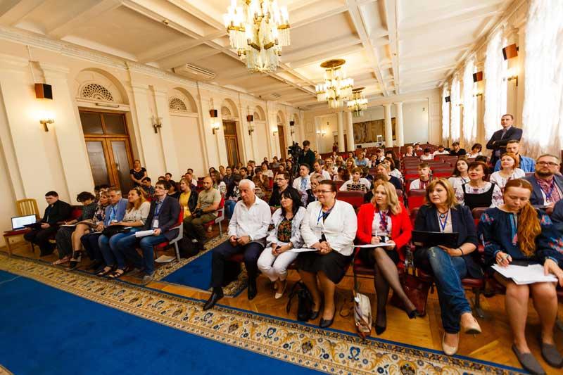 Аудиторія була зацікавлена виступом закарпатського юного дослідника