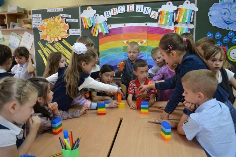 Учні - заняття за принципами Нової українська школи