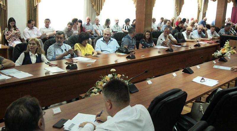 Засідання вченої ради Ужгородського національного університету
