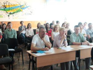 Викладачі й студенти відділення журналістики УжНУ