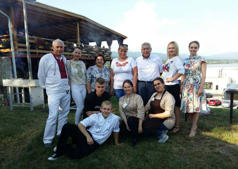 Ужгородські студенти й викладачі в Словаччині