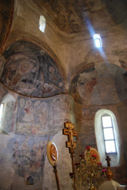 Горянська ротонда - фрески
