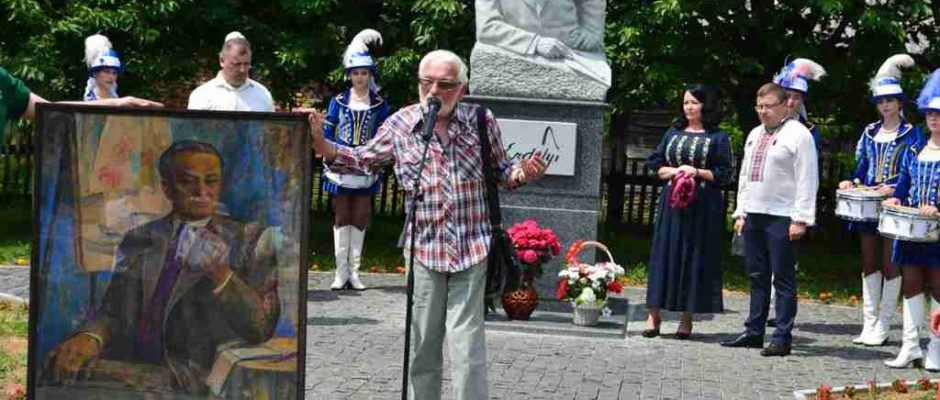 Фестиваль імені Ерделі на Іршавщині. Виступає Володимир Микита