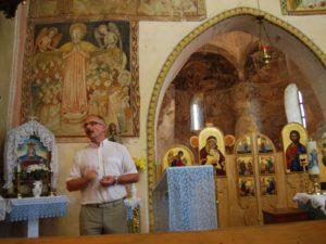 Михайло Приймич виступає на презентації монографії Одарки Долгош