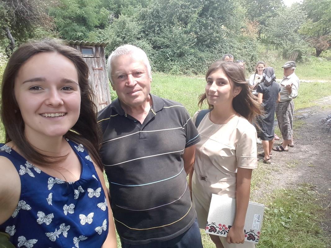 Студенти УжНУ в селі Букове