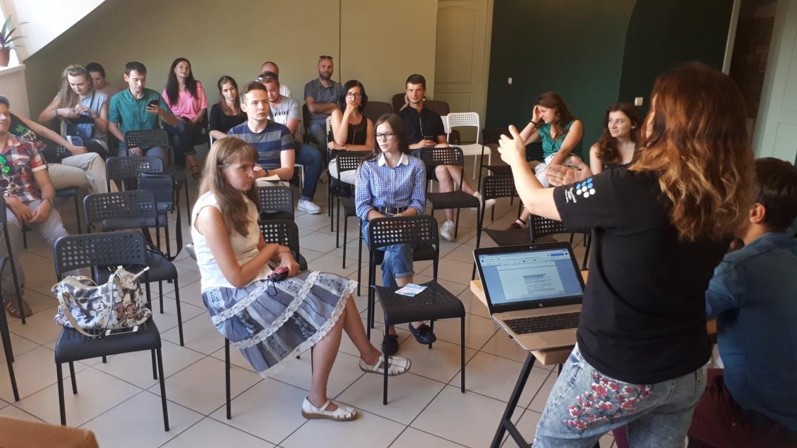 Лекція для журналістів в Ужгороді