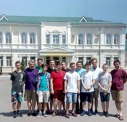 Закарпатська група на Літній комп'ютерній школі в Кременчуці