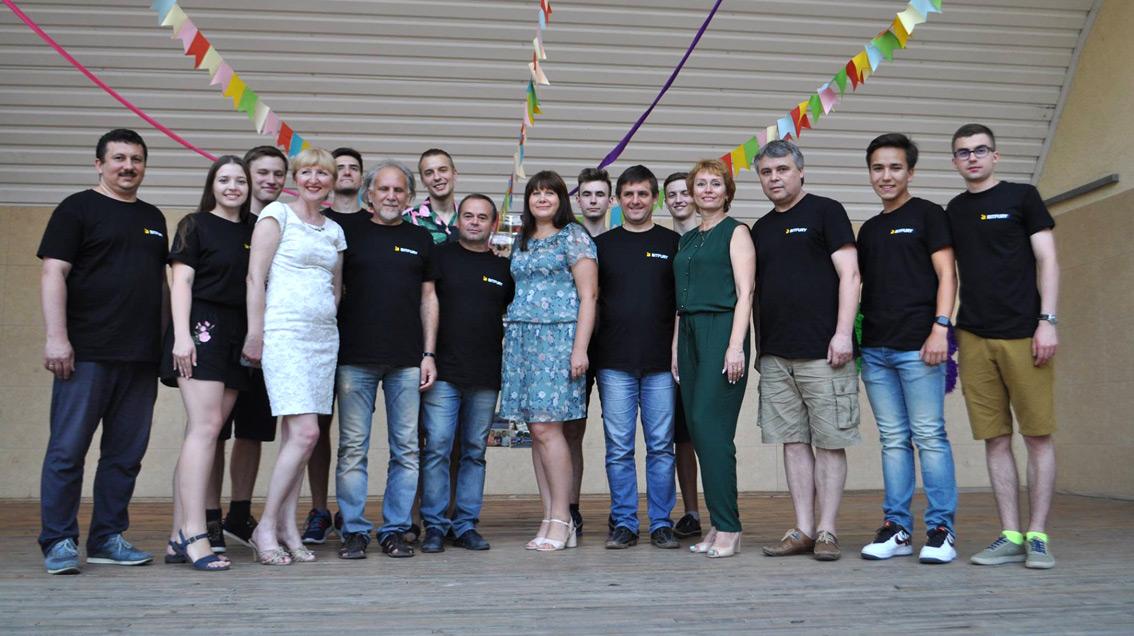 Лектори та оргкомітет Всеукраїнської літньої комп'ютерної школи