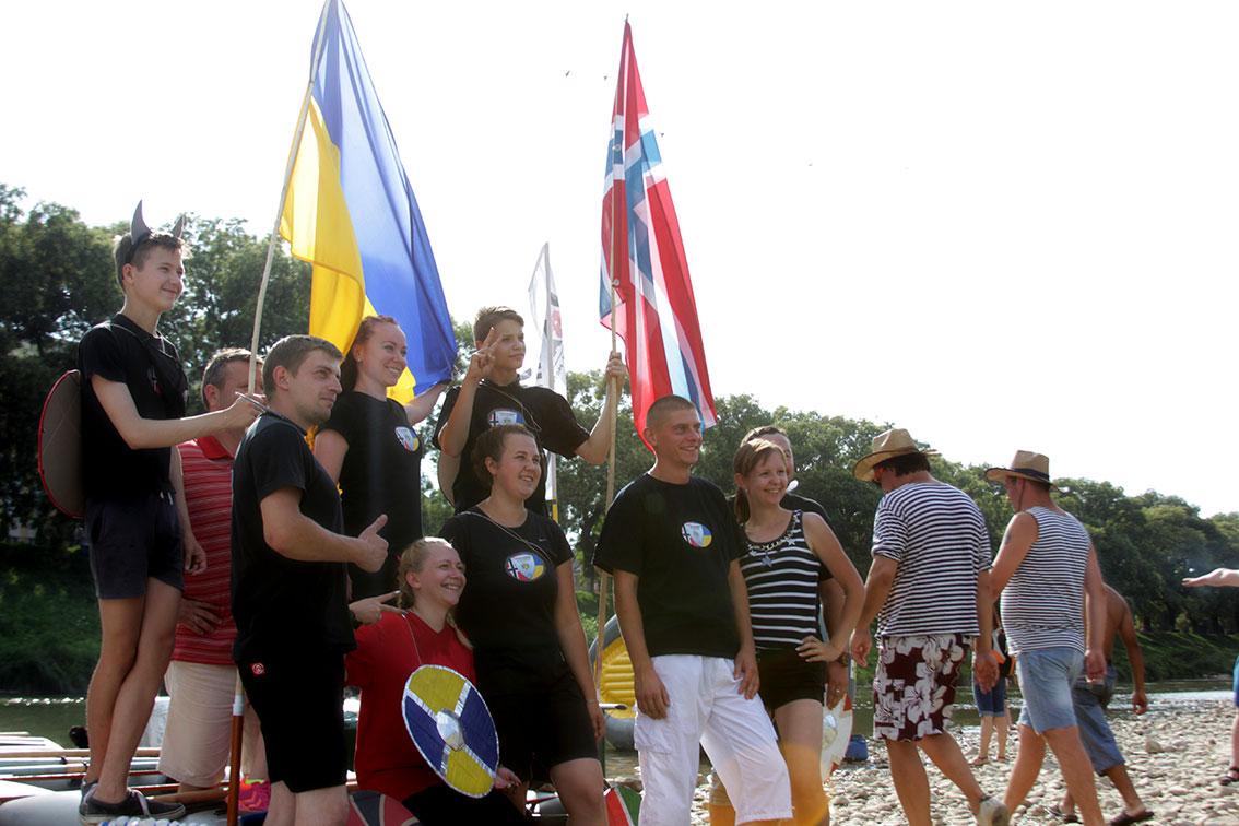 Команда «Вікінги Україна-Норвегія»