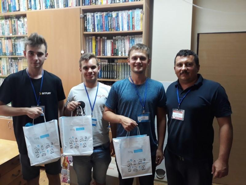 KNU_MaxFun – з подарунками від Ring Ukraine