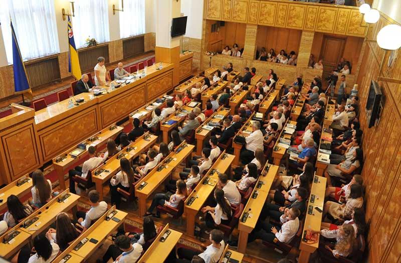 Засідання колегії департаменту в ОДА