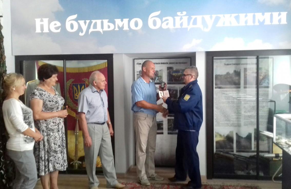 Нагородження Ігоря Прохненка