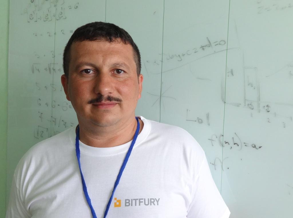 Олександр Міца, організатор Літньої школи з програмування