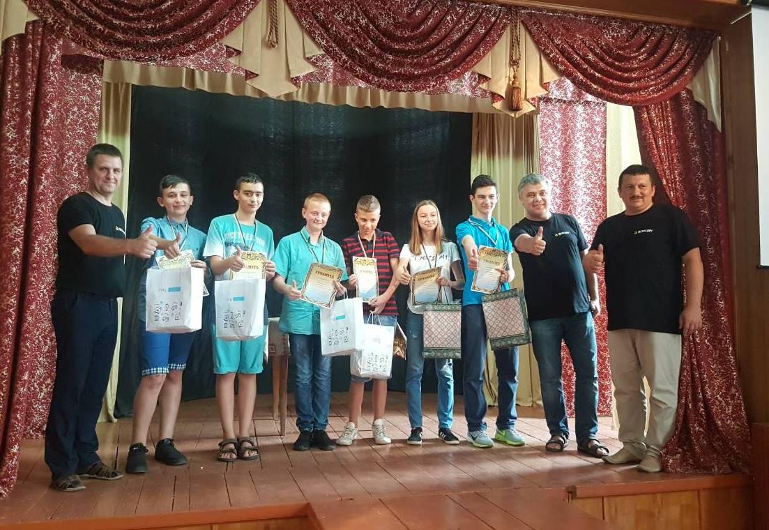 Призери Кубку Хуста з програмування - 2018
