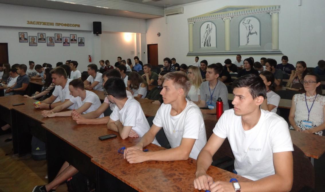 Учасники Літньої школи з програмування-2018