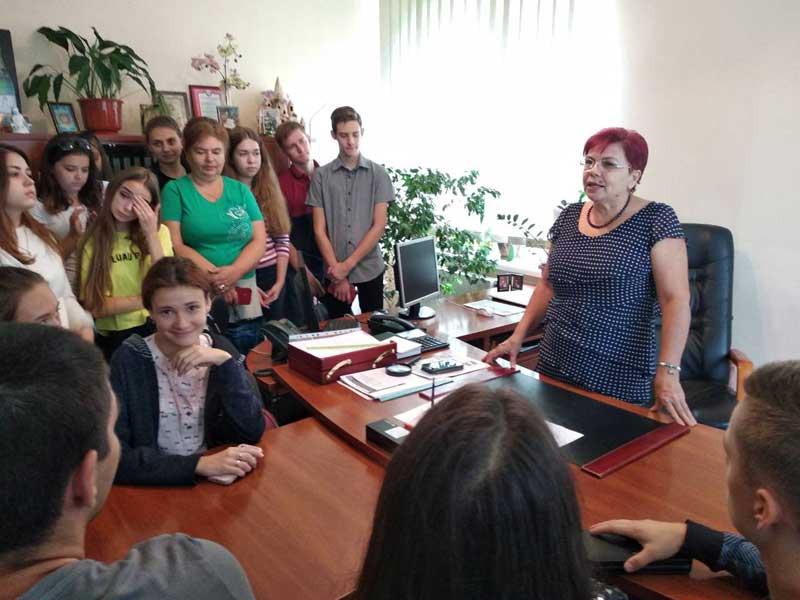 Студенти УТЕК КНТЕУ - в управлінні пенсійного фонду Закарпаття