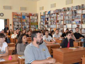 Під час презентації в обласній бібліотеці