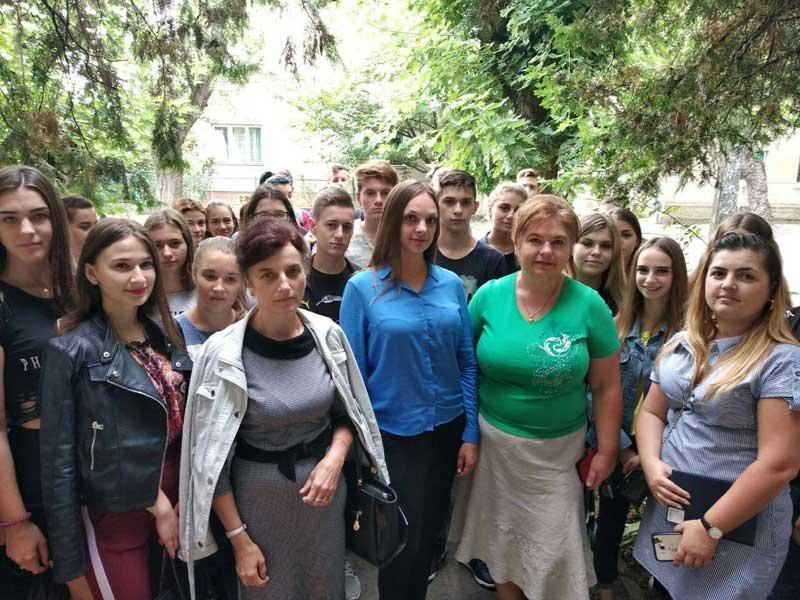 Студенти УТЕК КНТЕУ з викладачами