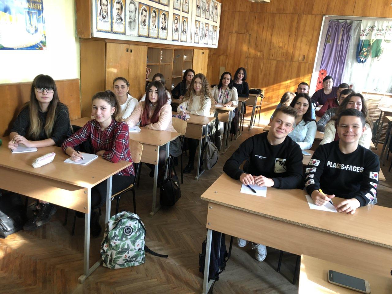 Диктант національної єдності в Ужгородському торговельно-економічному коледжі КНТЕУ