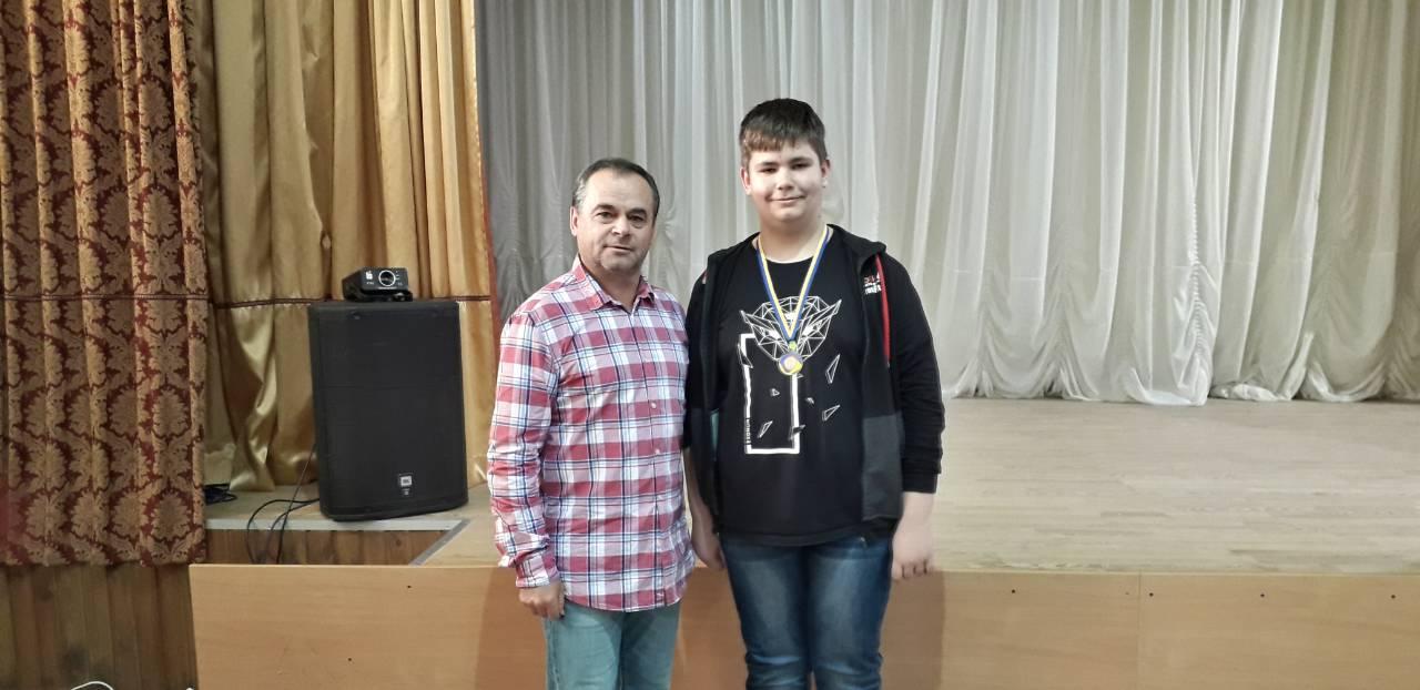 Валентин Мельник та Мартін Лешко