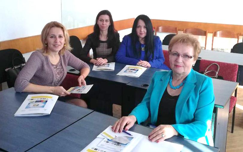 Галина Шумицька, Евеліна Балла, Оксана Тиховська, Валентина Барчан