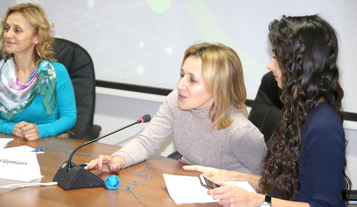 Леся Поліха, Галина Шумицька, Катерина Кузьміна