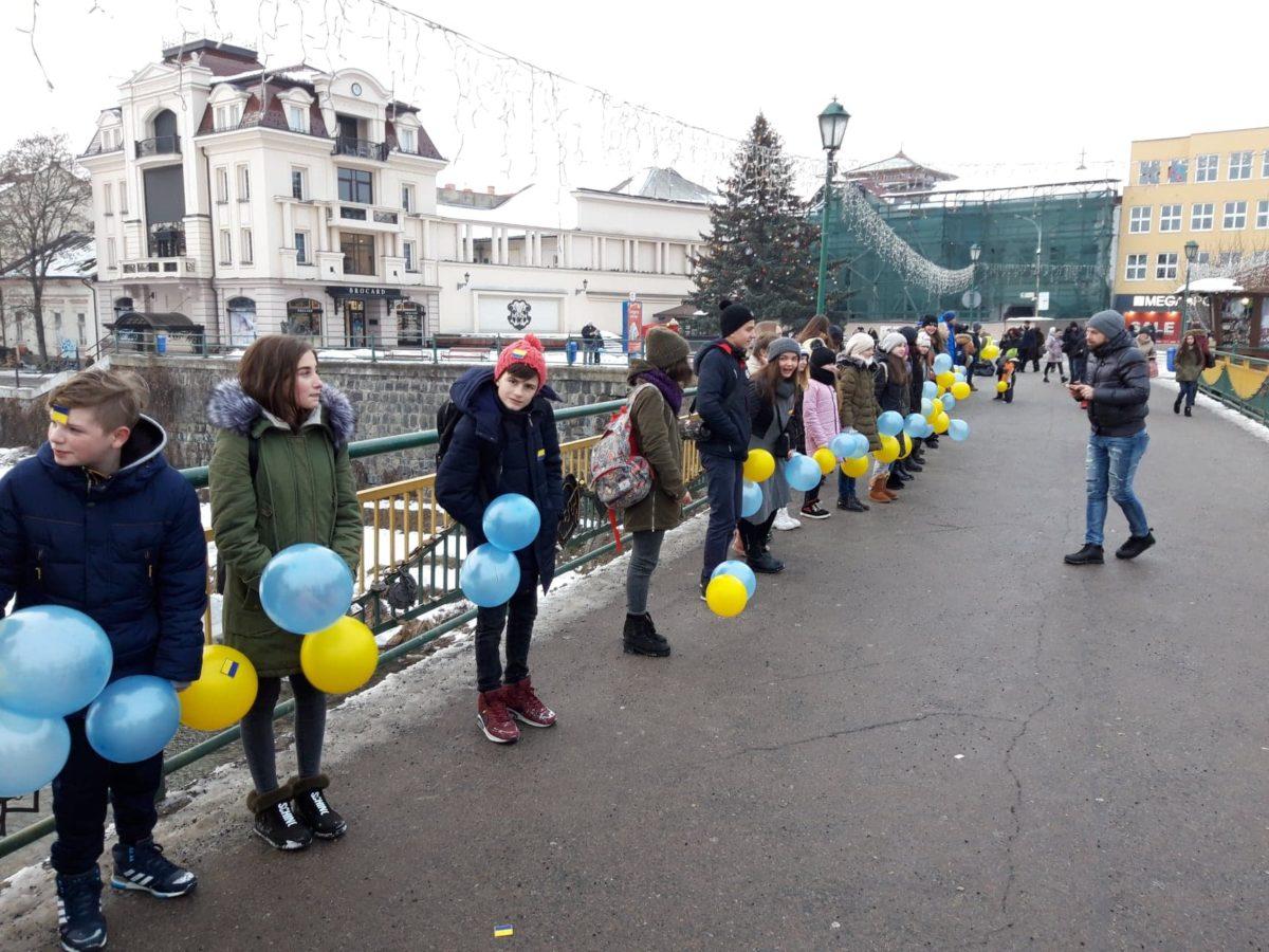 Флешмоб в Ужгороді