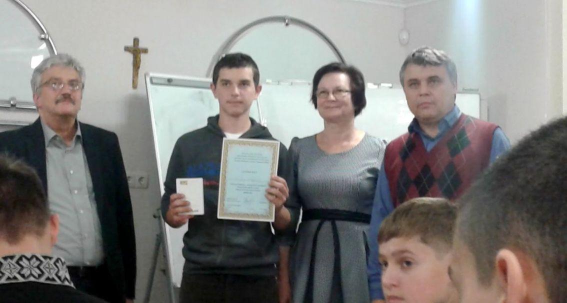 Сергій Вапнічний із учнями й колегами