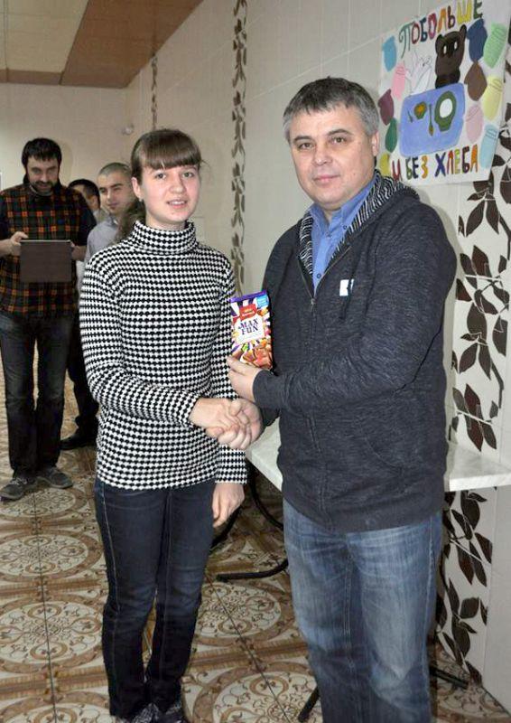 Сергій Вапнічний із ученицею