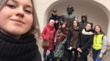 Студенти УТЕК КНТЕУ в Мукачівському замку