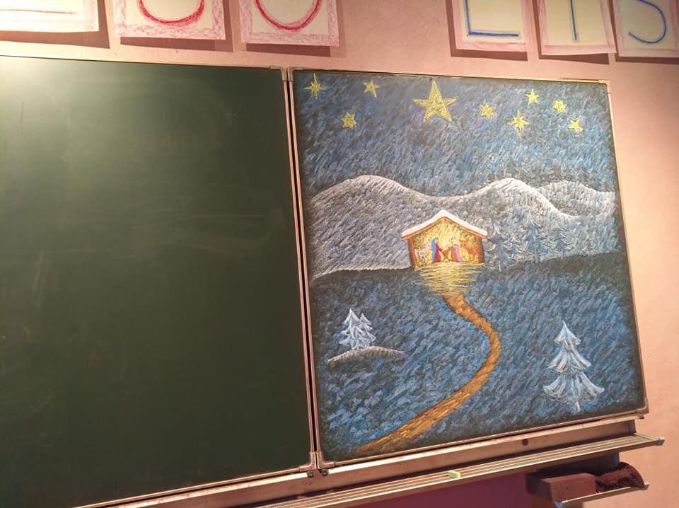 Дошка в австрійській школі
