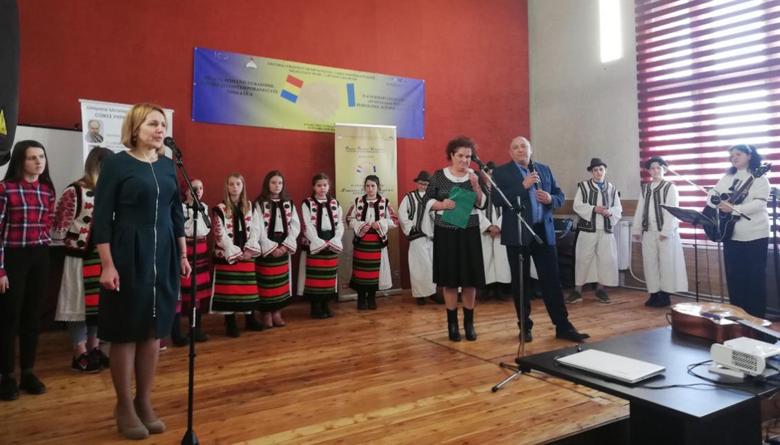 Галина Шумицька виступає в Румунії