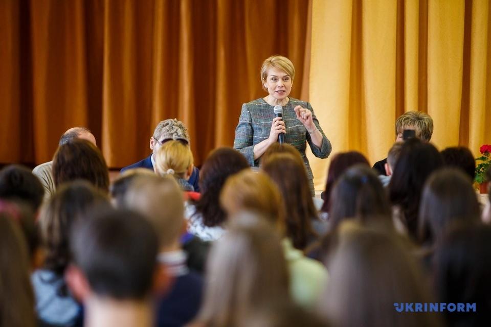 Лілія Гриневич у Великій Доброні