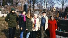 Наталія Ребрик, Микола і Магда Мушинки зі студентами