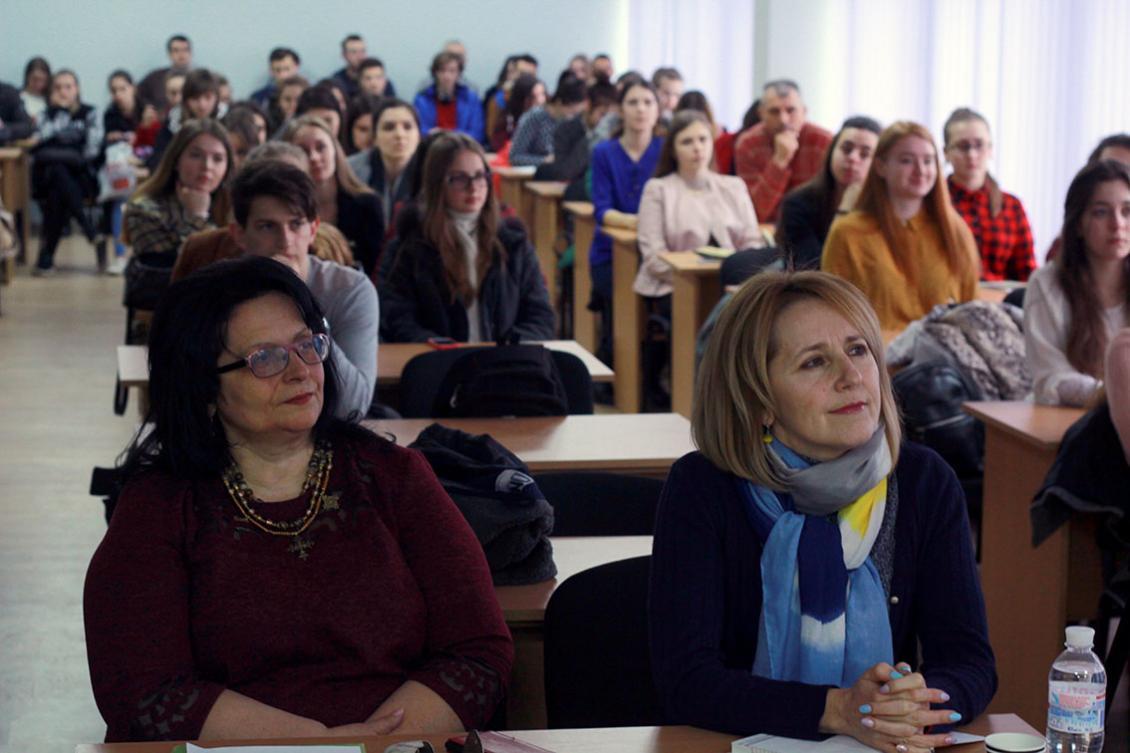 Галина Шумицька та Наталія Венжинович