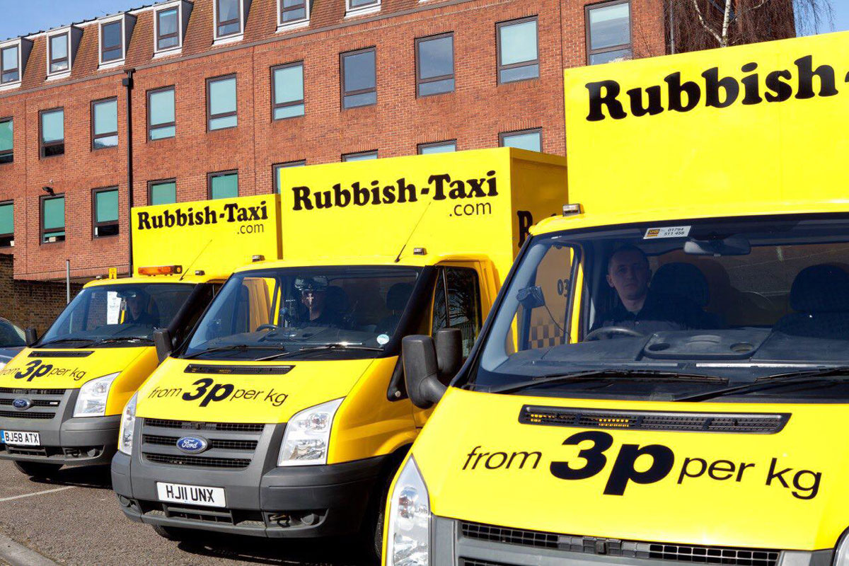 Rubbish taxi