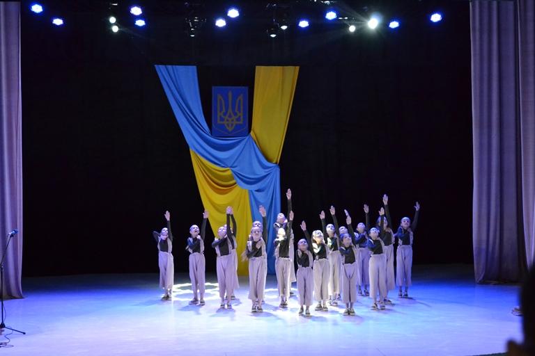 Виступ юних танцюристів