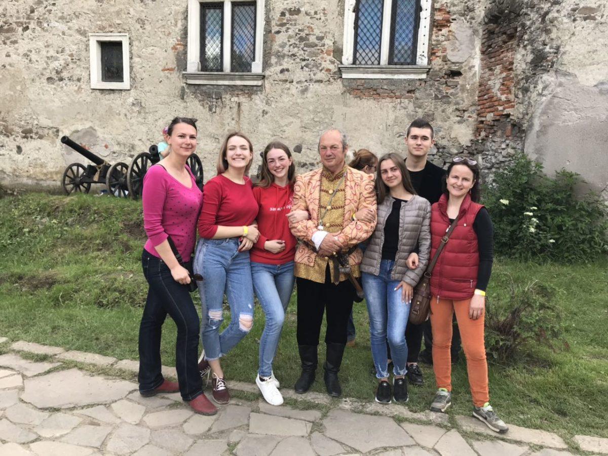 Студенти УТЕК на Срібному Татоші